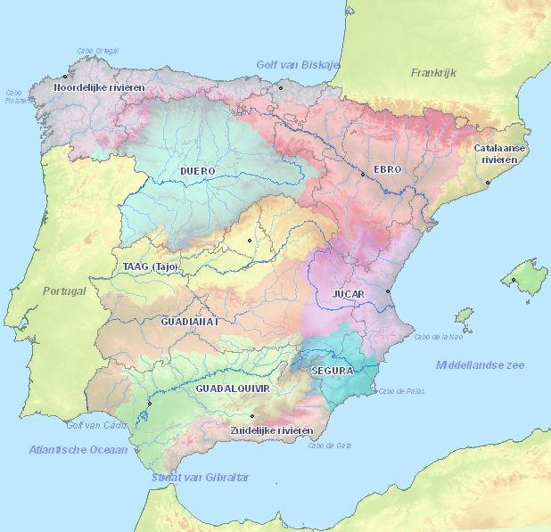 Rivieren In Spanje